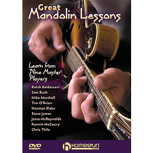 Great Mandolin Lessons (DVD)