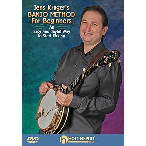 Jens Kruger&#039;s Banjo Method for Beginners (DVD)