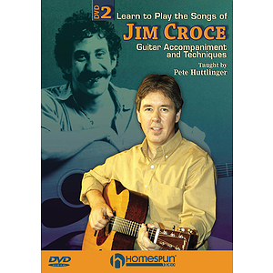 Learn to Play the Songs of Jim Croce (DVD)