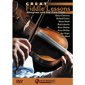 Great Fiddle Lessons (DVD)