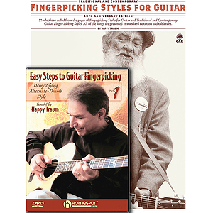 Happy Traum Fingerpicking Pack (DVD)