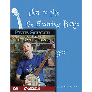 Pete Seeger Banjo Pack (DVD)