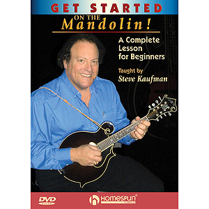 Get Started on the Mandolin! (DVD)