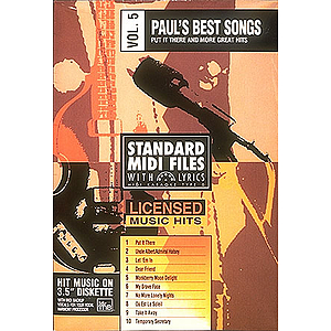 Paul's Best Songs - Volume 5: Put It There and More Great Hits