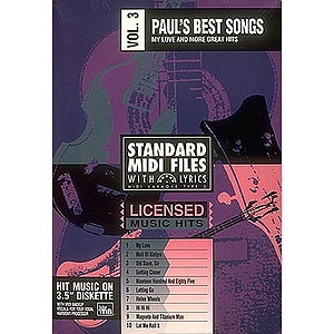 Paul's Best Songs - Volume 3: My Love and More Great Hits