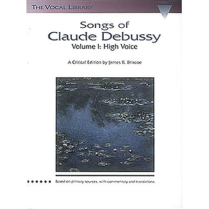 Songs of Claude Debussy
