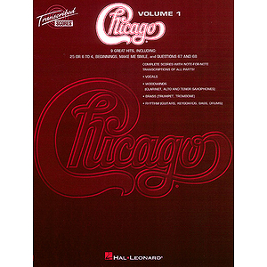 Chicago - Transcribed Scores Volume 1