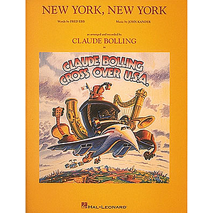 Claude Bolling - New York, New York