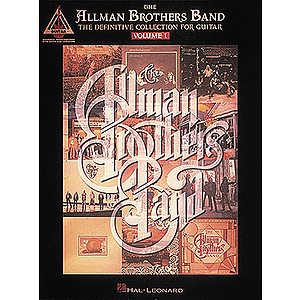 The Allman Brothers Band - The Definitive Collection for Guitar - Volume 1
