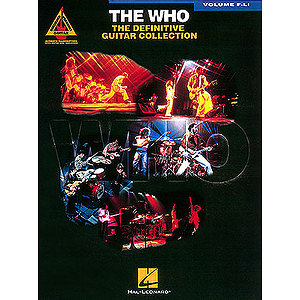 The Who - The Definitive Guitar Collection - Volume F-Li