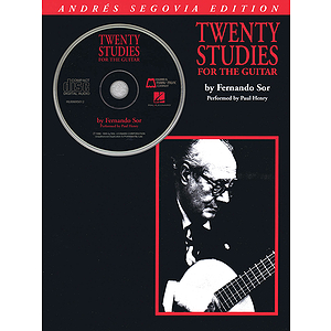 Andres Segovia - 20 Studies for the Guitar