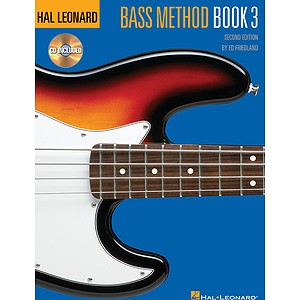 Hal Leonard Bass Method Book 3 - 2nd Edition