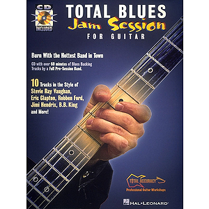 Total Blues Jam Session For Guitar