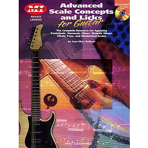 Advanced Scale Concepts and Licks for Guitar