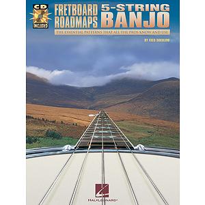 Fretboard Roadmaps - 5-String Banjo