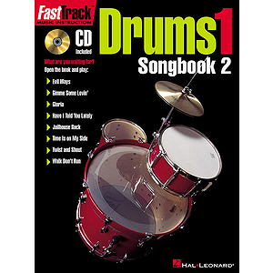 FastTrack Drums Songbook 2 - Level 1