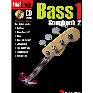 FastTrack Bass Songbook 2 - Level 1