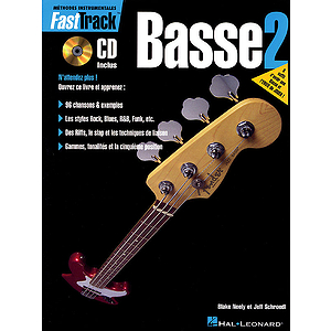 FastTrack Bass Method - Book 2 - French Edition