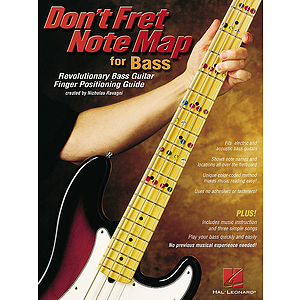 Don't Fret Note Map(TM) for Bass