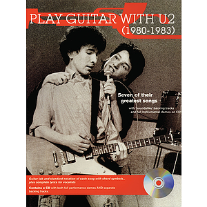 Play Guitar with U2 (1980-1983)