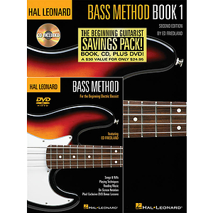 Hal Leonard Bass Method Beginner&#039;s Pack