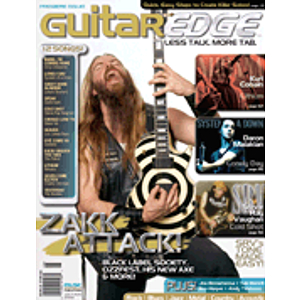 Guitar Edge Magazine Back Issue - July/August 2006