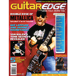 Guitar Edge Magazine Back Issue - September/October 2006