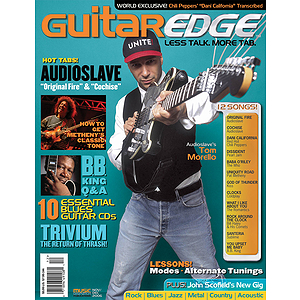 Guitar Edge Magazine Back Issue - Nov/Dec 2006