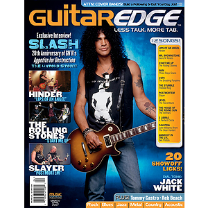 Guitar Edge Magazine Back Issue - March/April 2007