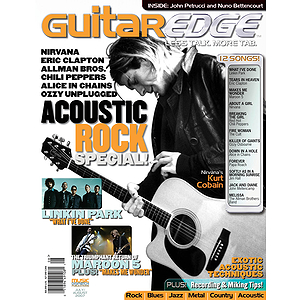 Guitar Edge Magazine Back Issue - July/August 2007