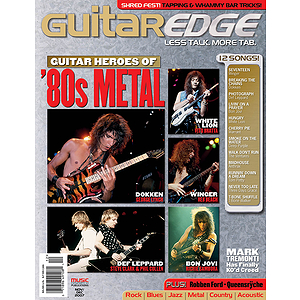 Guitar Edge Magazine Back Issue - Nov/Dec 2007