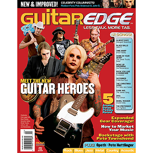 Guitar Edge Magazine Back Issue - Jan/Feb 2008
