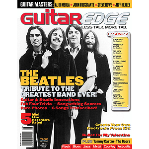 Guitar Edge Magazine Back Issue - July/August 2008