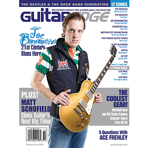 Guitar Edge Magazine Back Issue - November/December 2009