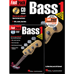 FastTrack Bass Method Starter Pack (DVD)