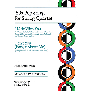 &#039;80s Pop Songs for String Quartet
