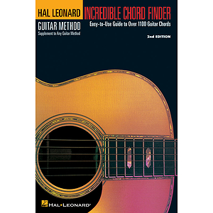 Incredible Chord Finder - 6 inch. x 9 inch. Edition