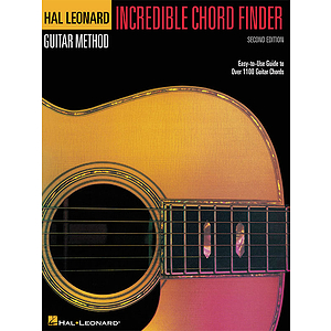 Incredible Chord Finder - 9 inch. x 12 inch. Edition