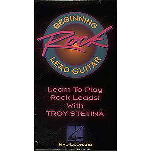 Beginning Rock Lead Guitar (VHS)