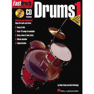 FastTrack Drum Method - Book 1