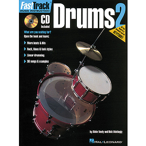 FastTrack Drums Method - Book 2