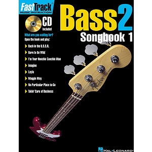 FastTrack Bass Songbook 1 - Level 2