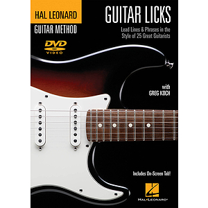 Guitar Licks (DVD)