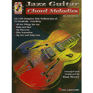 Jazz Guitar Chord Melodies