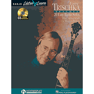 Tony Trischka Easy Banjo Solos CD/Pkg