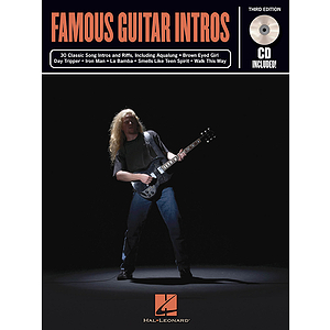 Famous Guitar Intros - 3rd Edition