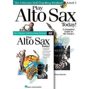 Play Alto Sax Today! Beginner&#039;s Pack