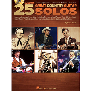 25 Great Country Guitar Solos