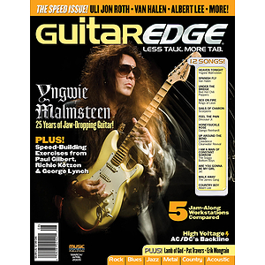 Guitar Edge Magazine Back Issue - March/April 2009