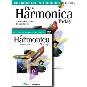 Play Harmonica Today! Beginner's Pack (DVD)